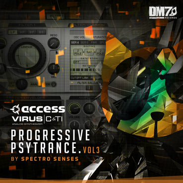 ACCESS VIRUS C + TI - PROGRESSIVE PSYTRANCE VOL. 3