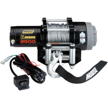 Moose Aggro 2500lbs Wire Rope Winch