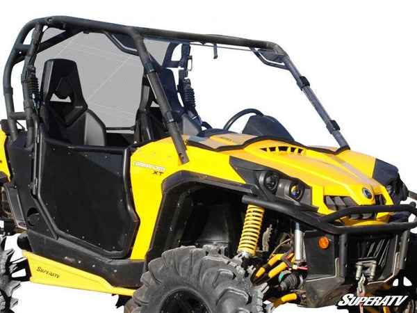Can-Am Commander Scratch Resistant Full Windshield - Trailsport Motors