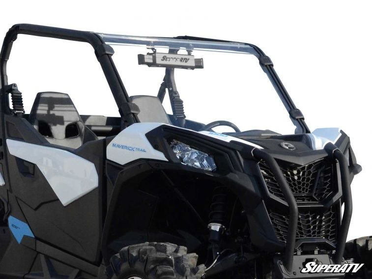 Can-Am Maverick Sport Full Windshield - Trailsport Motors