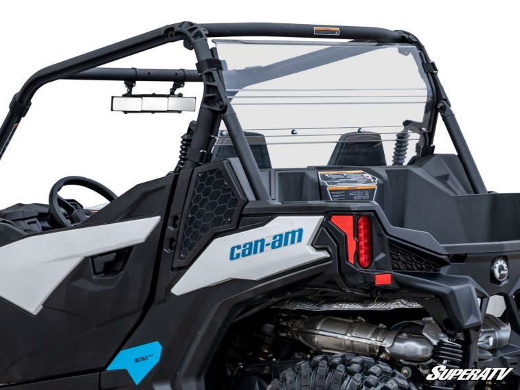 Can-Am Maverick Sport Rear Windshield - Trailsport Motors