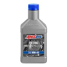AMSOIL  100% Synthetic 10W40 Metric oil