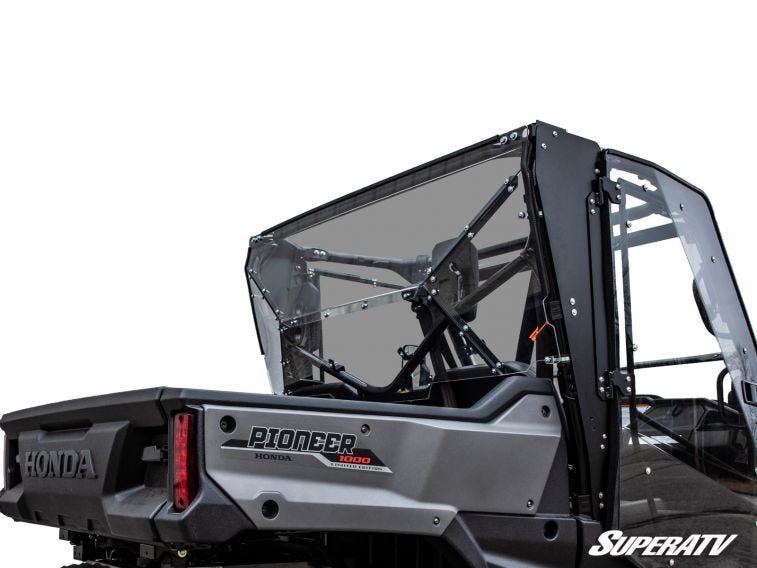 Honda Pioneer 1000 Rear Windshield - Trailsport Motors
