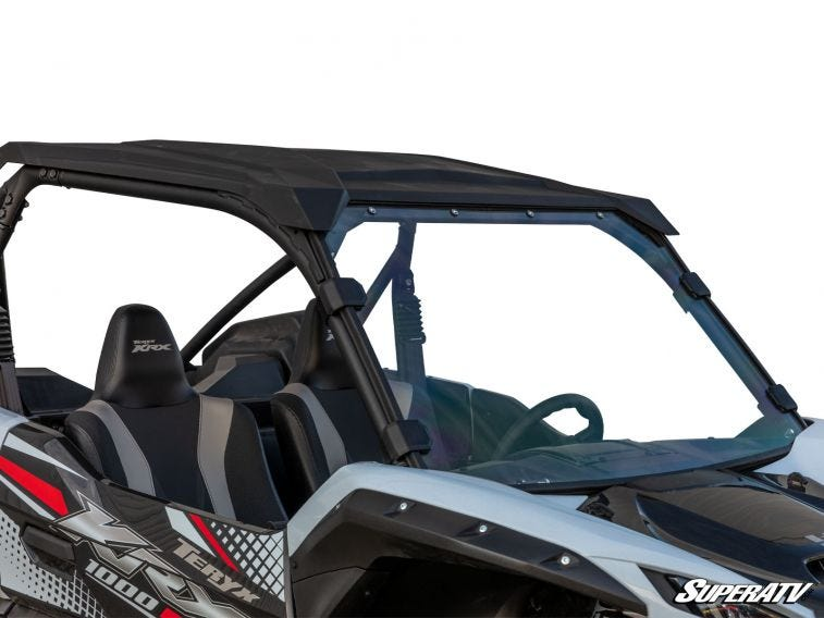Kawasaki Teryx KRX 1000 Scratch Resistant Full Windshield - Trailsport Motors