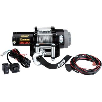 Moose Aggro 3500lbs Wire Rope Winch