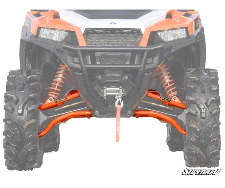 Polaris RZR S 900 High Clearance A-Arms - Trailsport Motors