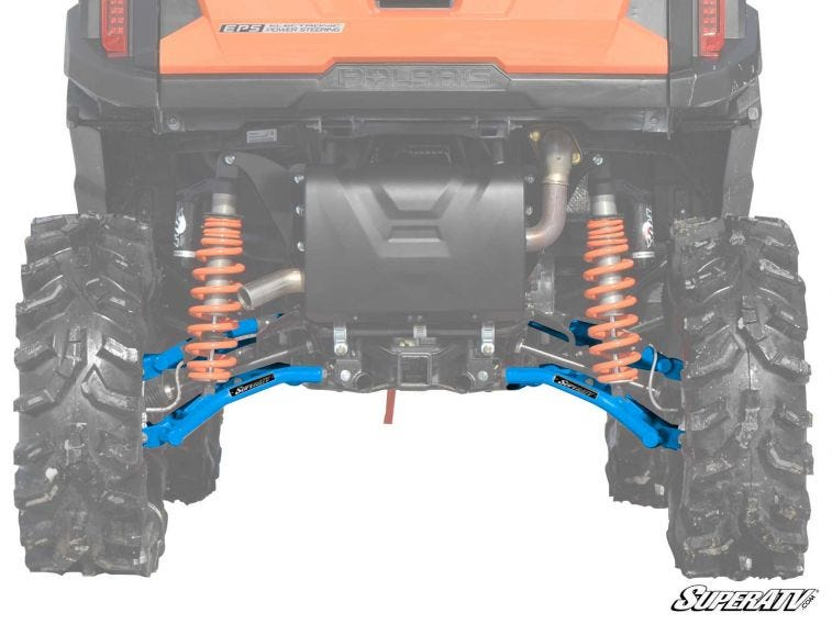 "Polaris RZR S 900 High Clearance 1.5"" Rear Offset A-Arms - Trailsport Motors"