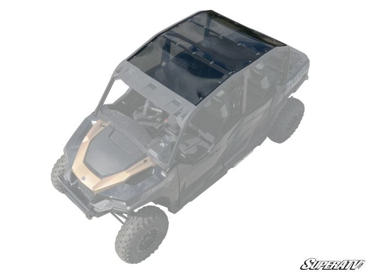 Polaris General 4 Seater Tinted Roof - Trailsport Motors