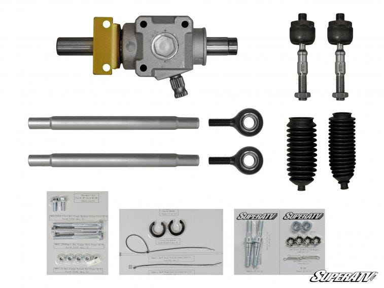 Polaris RZR S 900 RackBoss Heavy Duty Rack And Pinion - Trailsport Motors
