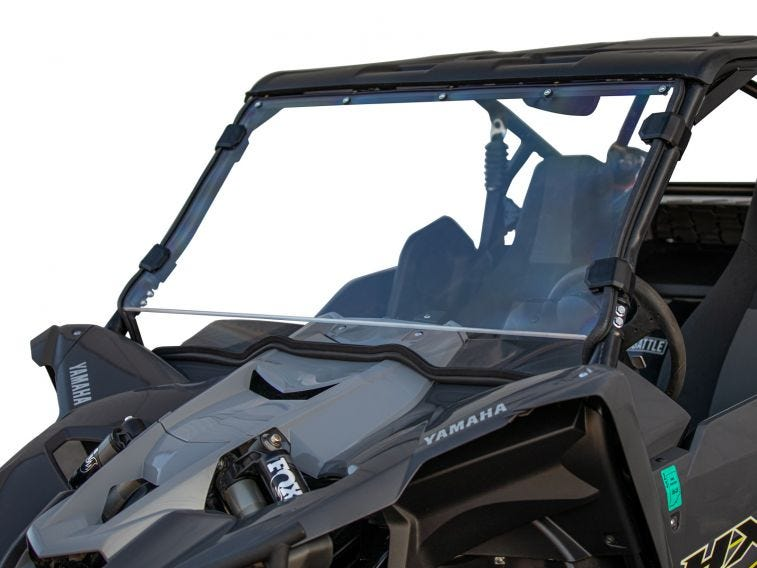 Yamaha YXZ Scratch Resistant Full Windshield - Trailsport Motors