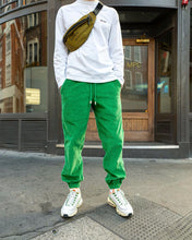 Load image into Gallery viewer, Green Corduroy - [Pairs UK] [jogging bottoms] [ are those pairs] [mike pairs] [sweatpants] [patterned sweatpants] [patterned pants]
