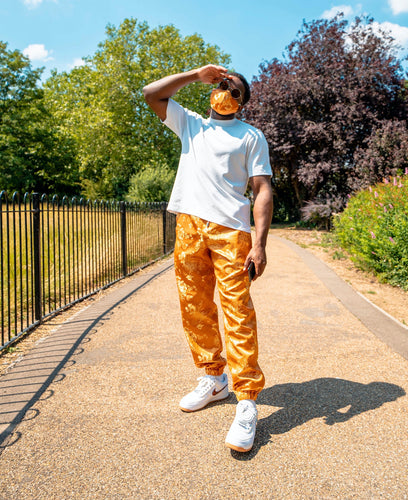 The 'Ember' Pair - [Pairs UK] [jogging bottoms] [ are those pairs] [mike pairs] [sweatpants] [patterned sweatpants] [patterned pants]