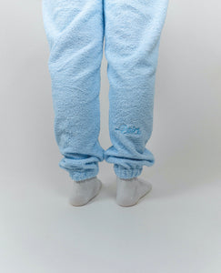 Blue Cosy Set - [Pairs UK] [jogging bottoms] [ are those pairs] [mike pairs] [sweatpants] [patterned sweatpants] [patterned pants]