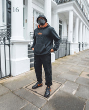 "Load image into Gallery viewer, ""Lava"" Pairsley Hoody - [Pairs UK] [jogging bottoms] [ are those pairs] [mike pairs] [sweatpants] [patterned sweatpants] [patterned pants]"