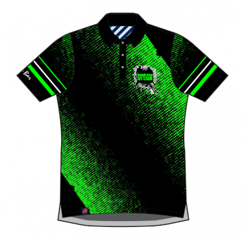 Lough Key Tech Polo (Black)