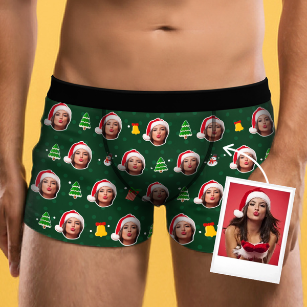 Custom Boxer Shorts - Christmas