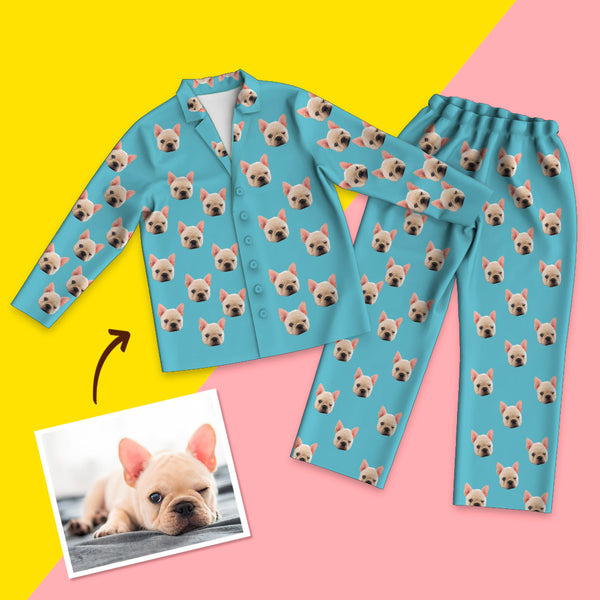 Custom Face Pet Color Pyjamas