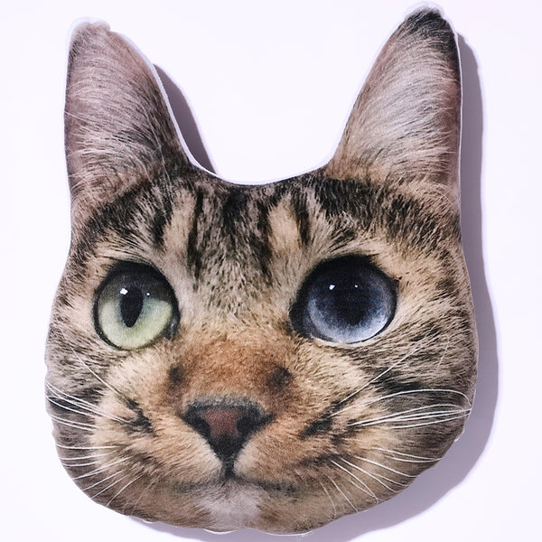 Custom Pet Cat Face Toy Pillow