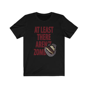 No Zombies - Unisex Jersey Short Sleeve Tee - Distancing