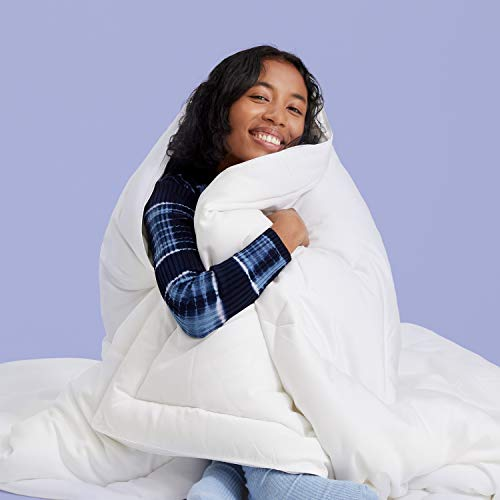 Buffy Cloud Comforter - Hypoallergenic Eucalyptus Fabric - Full/Queen