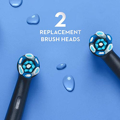 Oral-B iO Series 7 Electric Toothbrush With 2 Brush Heads, Black Onyx