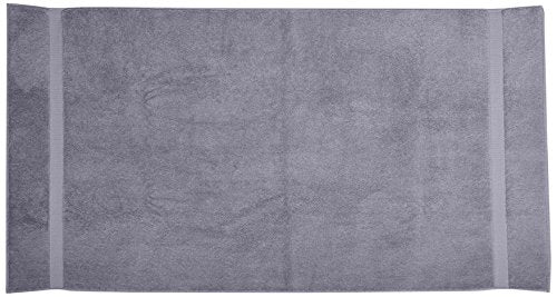 Pinzon Heavyweight Luxury Cotton Bath Towel - 56 x 30 Inch, Platinum
