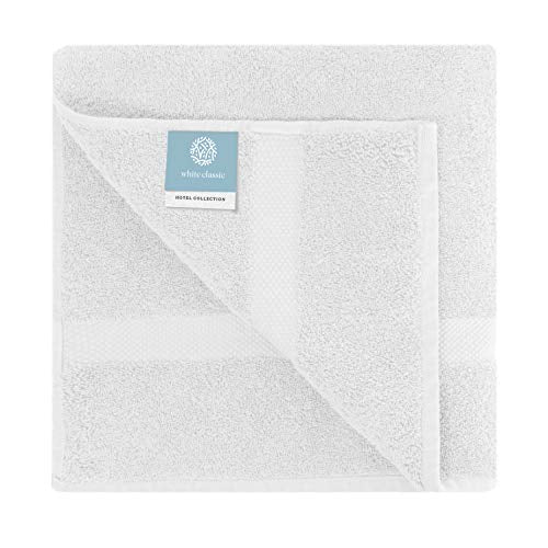 Luxury Bath Sheet Towels Extra Large | Highly Absorbent Hotel spa Collection | 35x70 Inch | 2 Pack (White)