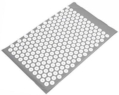 BalanceFrom Acupressure Mat and Pillow Set for Back and Neck Pain Relief and Muscle Relaxation Massage (Gray) (B07KTJPVV2)