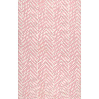"nuLOOM Alex Hand Tufted Wool Rug, 7' 6"" x 9' 6"", Pink"
