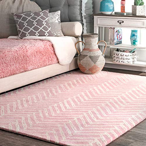 nuLOOM Alex Hand Tufted Wool Rug, 7' 6