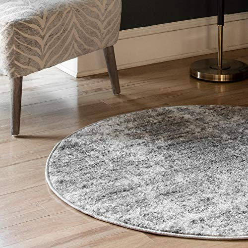 "nuLOOM Misty Shades Deedra Area Rug, 7' 6"" x 9' 6"", Grey"