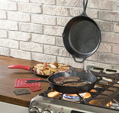 Lodge Essential Pan Set, 7-Piece, Black