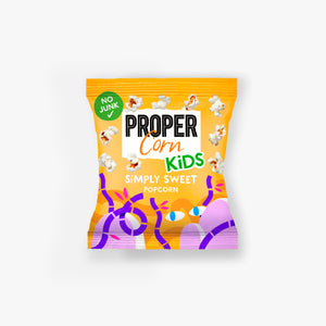 PROPERCORN - Sweet popcorn for Kids