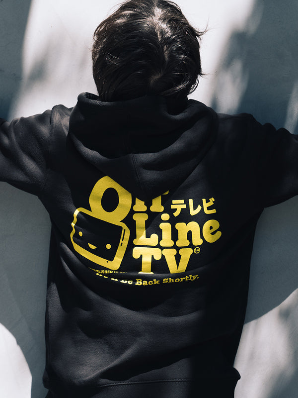 OFFLINETV® | WE'LL BE BACK HOODIE (BLACK)