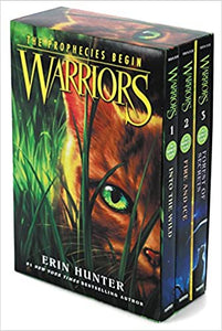 Warriors Box Set: Volumes 1 to 3: Into the Wild, Fire and Ice, Forest of Secrets ( Warriors: The Prophecies Begin )