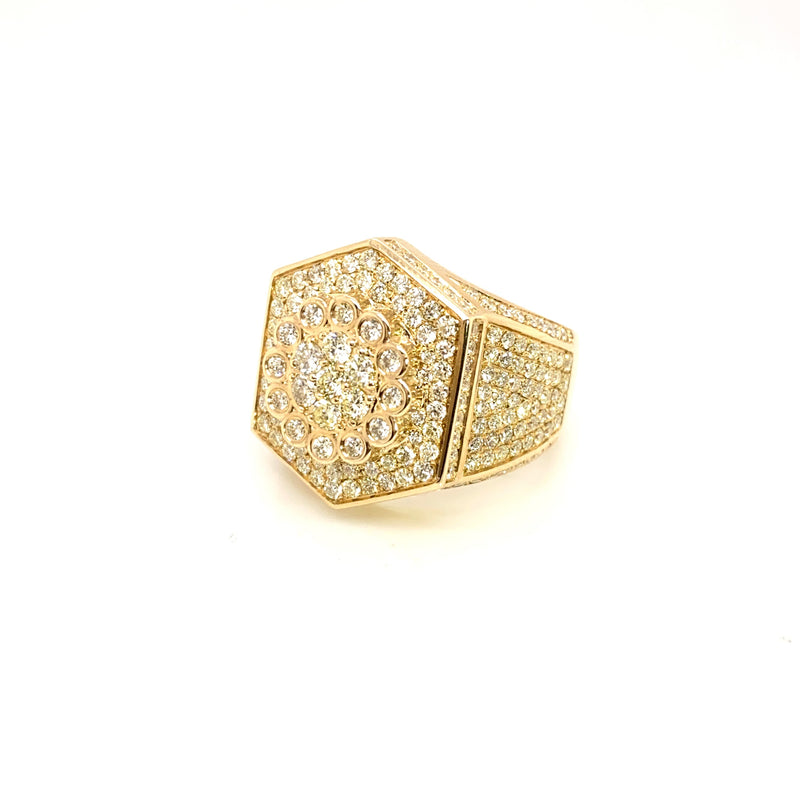 The Real Deal- Gold & VS Diamonds Ring