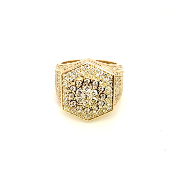 The Real Deal - Gold & VS Diamonds Ring