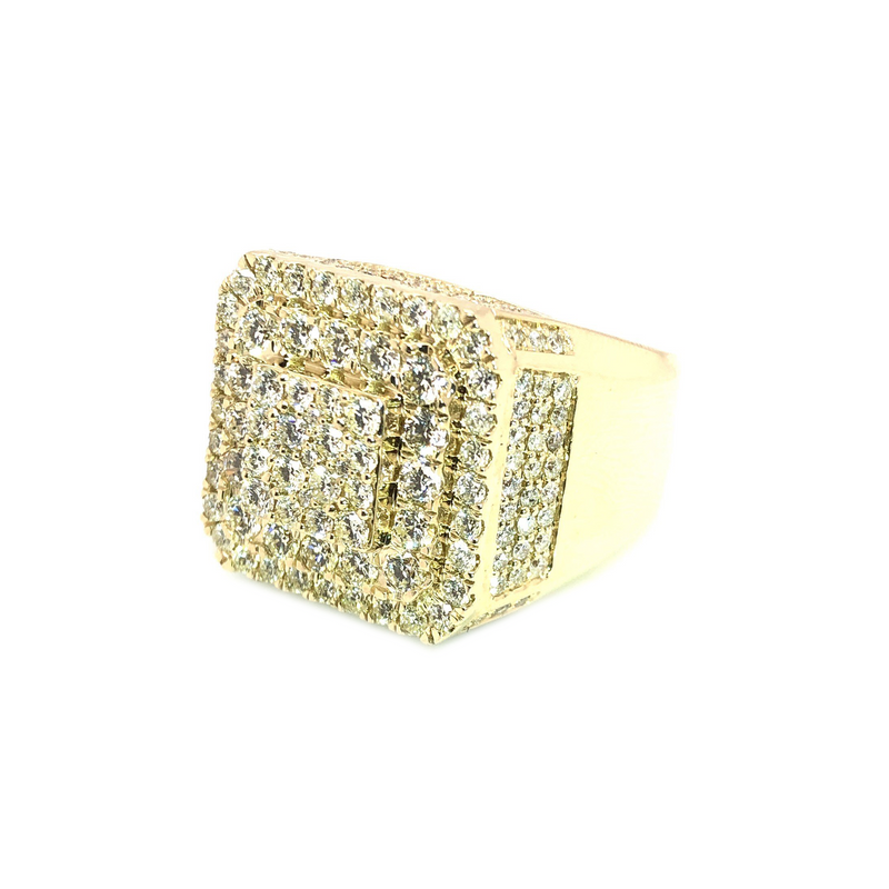 The Frank Lucas -Yellow Gold & VS Diamonds Ring