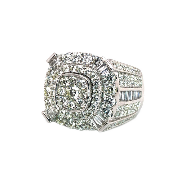 The Bron Ring - White Gold & VS Diamonds Ring
