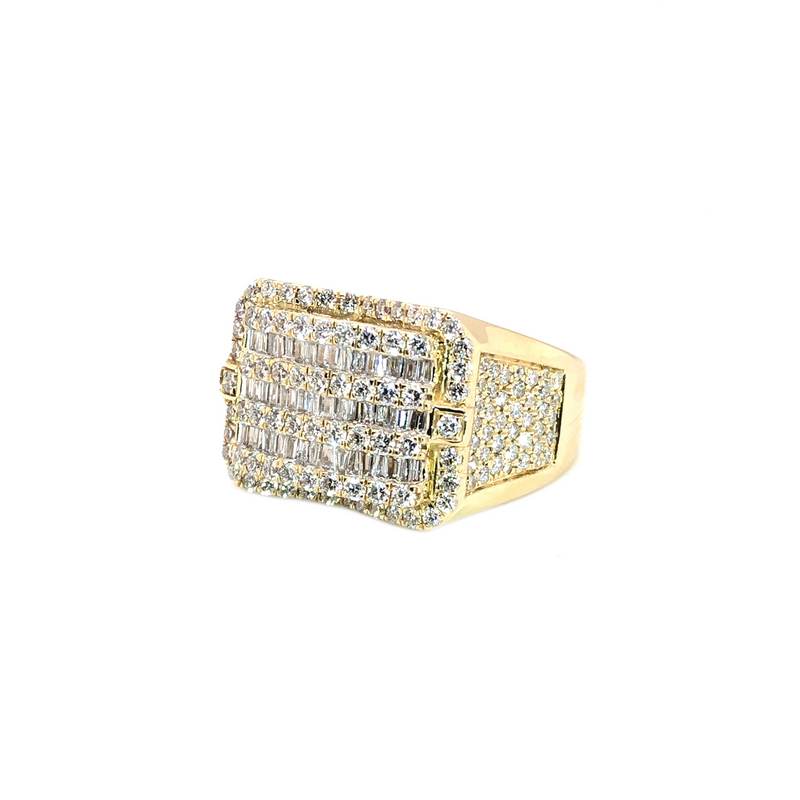 The GodFather - Yellow Gold & VS Diamonds Ring