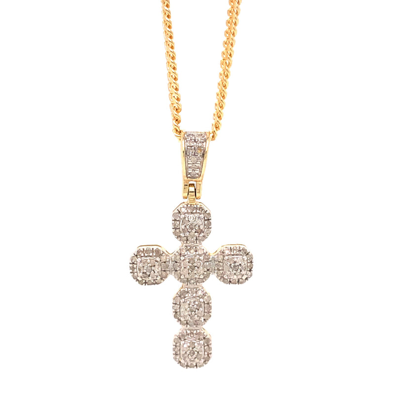 Micro Small Cross Pendant