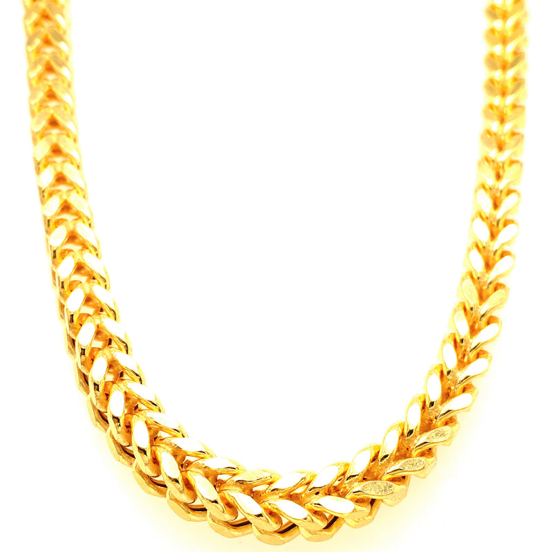 All Yellow Gold Franco Chains (Collection)
