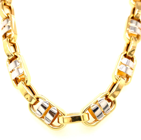 2 Tone Fancy Design Chain