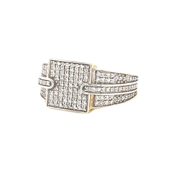 Academic Ring - GOLD & VS DIAMONDS RING