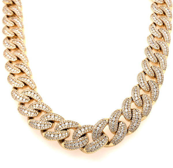Cuban Yellow Gold Chain 2