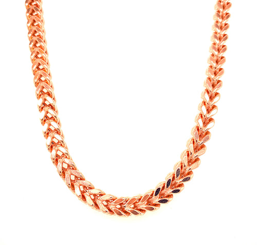 Rose Gold Franco Chain