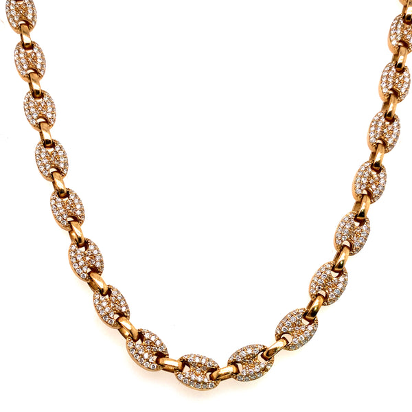 Yellow Gold Mular Chain