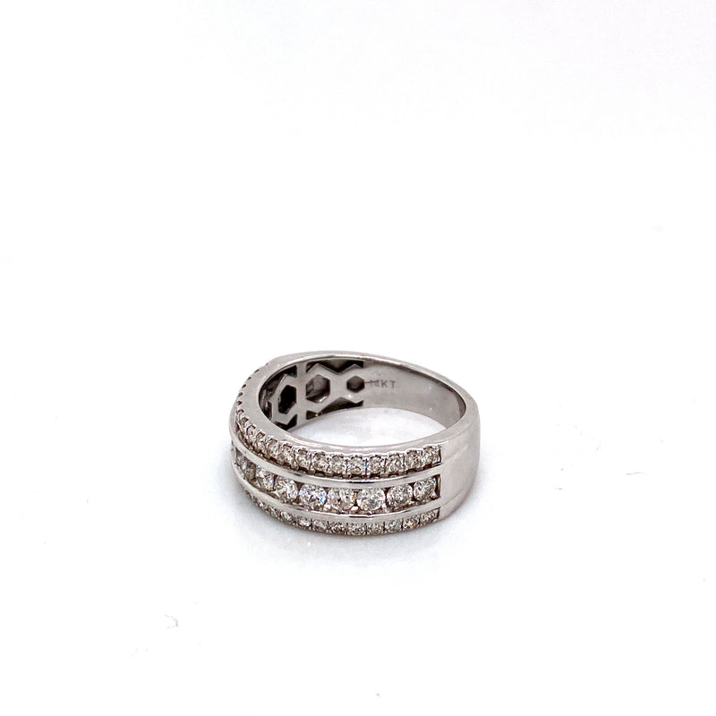 Atlas Ring - White Gold & VS Diamonds Ring