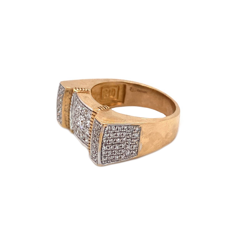 Guru Ring - GOLD & VS DIAMONDS RING