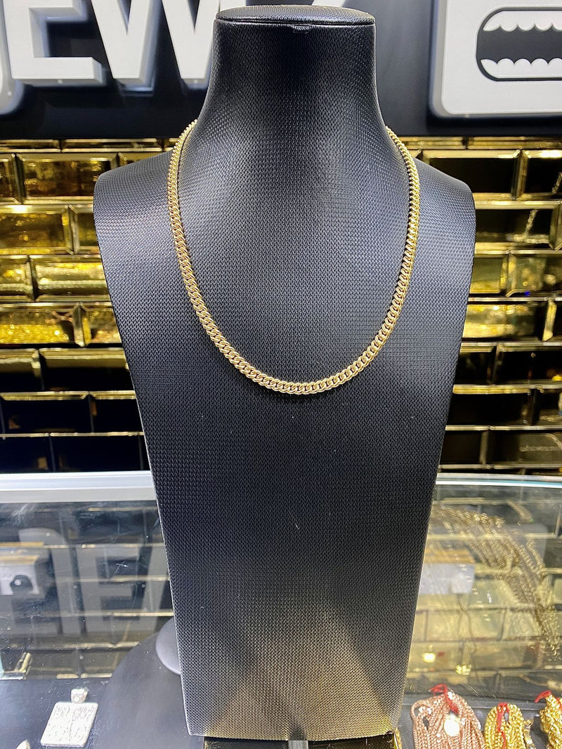 All Yellow Gold Cuban Chains (Collection)